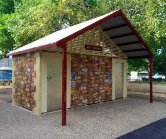 Pureablue Public Toilet Restroom Buildings